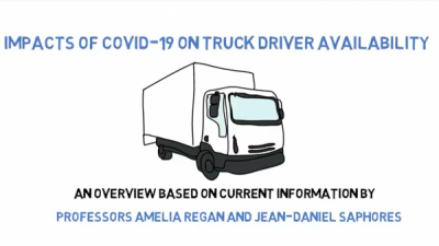 Impact of COVID 19 on Truck Driver Availability